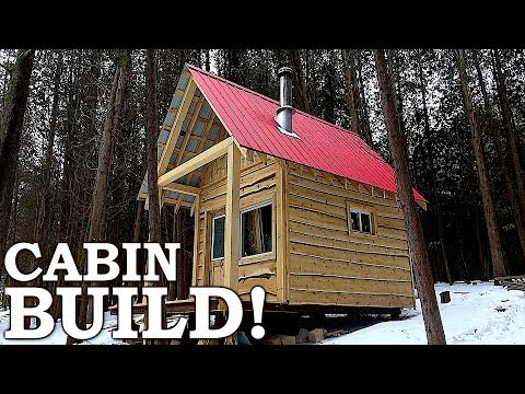 FINISHING TOUCHES and FUN at Small Cabin! | TOXIC MOLD, Positive Thinking, New Series Ep11