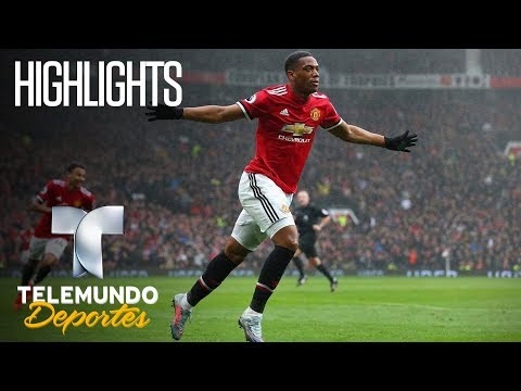 Manchester United 1 – Tottenham  0 Highlights | Premier League | Telemundo Deportes