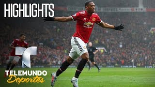 Highlights: Manchester United 1 – Tottenham  0 | Premier League | Telemundo Deportes