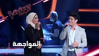 #MBCTheVoice - مرحلة المواجهة - بتول بني وبشار الجواد يؤدّيان أغنية 'عاللي جرى'