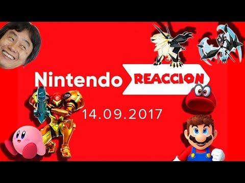 Nintendo Reacción 14/09/17