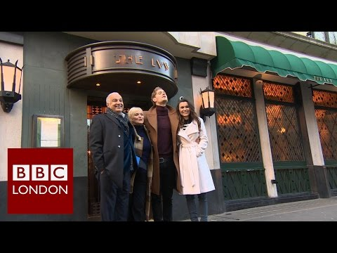 Marking 100 years of The Ivy – BBC London News