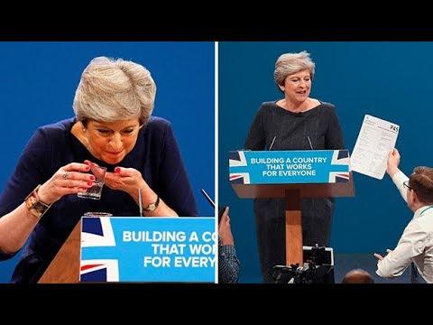 Theresa May's car crash conference speech