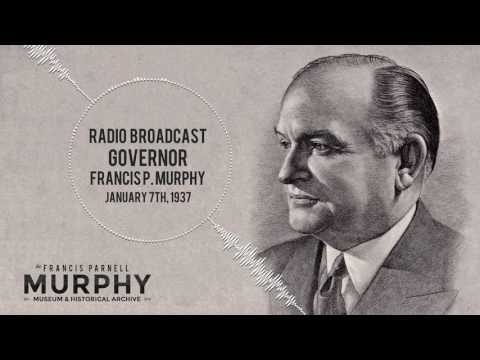 WFEA Radio - NH Governor Francis Parnell Murphy Inauguration, January 7th, 1937