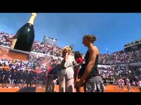 Sara Errani vs Serena Williams - finale Internazionali Bnl d'Italia