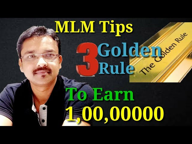 [Network Marketing Tips 20] ?? ???? ????? ?? ??? 3 GOLDEN RULE !