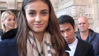 Fashion Week Paris TAYLOR MARIE HILL