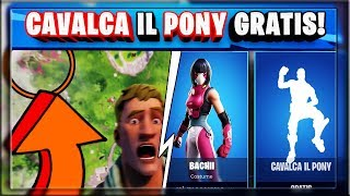 HOW TO GET THE DANCE RIDE THE PONY FOR FREE! LEAKS SEASON 10 FORTNITE! (SEASON 9 FORTNITE)