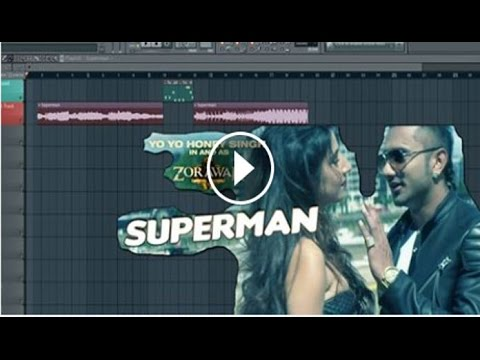 How to Make Superman ( Yo Yo Honey Singh ) Lead Drop Sound