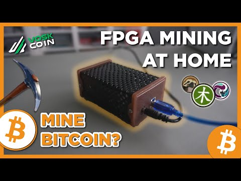 FPGA Mining Cryptocurrencies In YOUR HOME?!