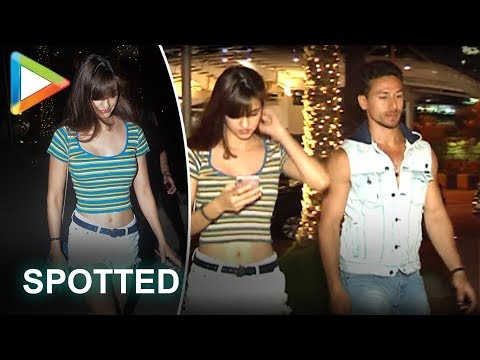 SPOTTED: Tiger Shroff on a Dinner Date with Girlfriend Disha Patani Mp3
