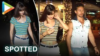 SPOTTED: Tiger Shroff on a Dinner Date with Girlfriend Disha Patani