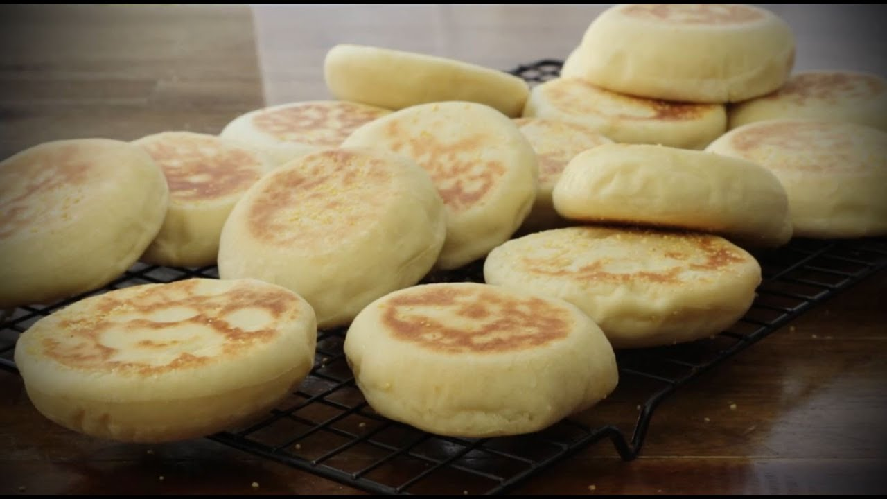 How to make english muffins bread recipes allrecipes youtube forumfinder Gallery