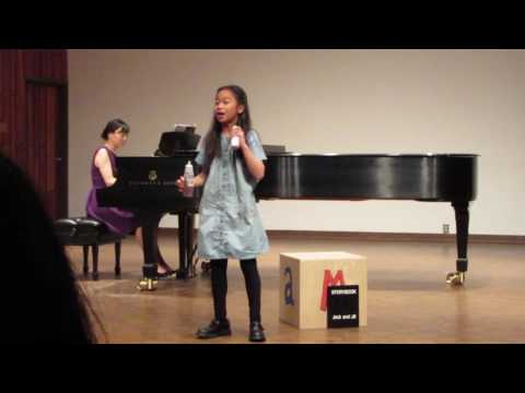 Emily's Year End Concert Performance at Vancouver Academy of Music 2016