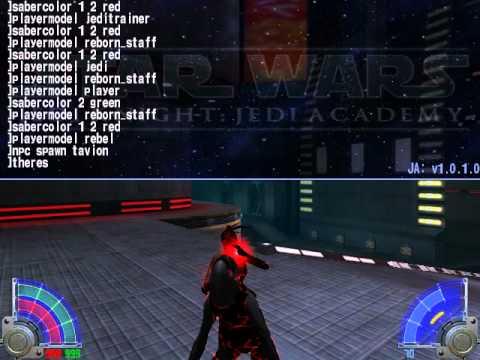 Чит коды на star wars jedi academy