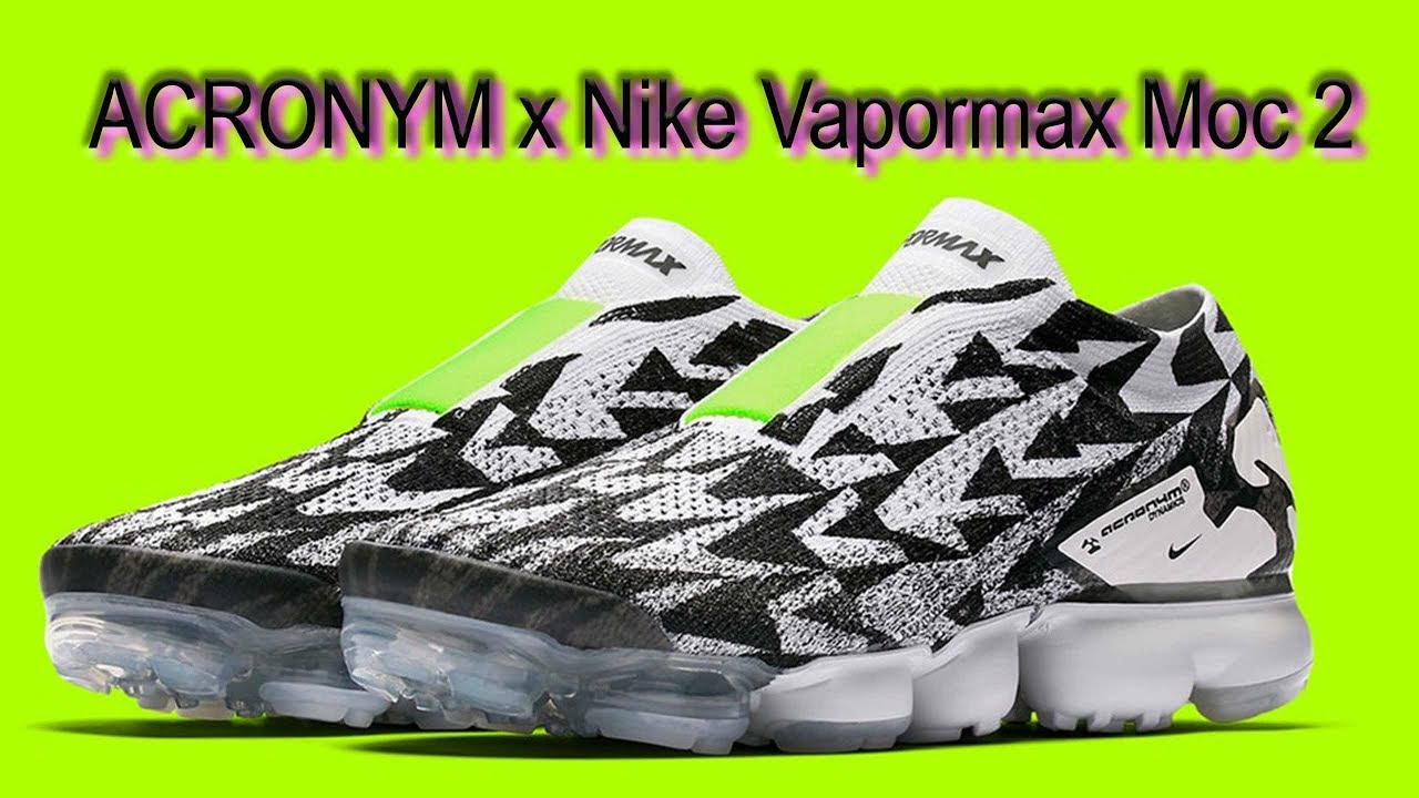 e3a4faea8dedeb Acronym Vapormax Moc 2 review - YouTube