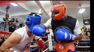 Floyd Mayweather spars undefeated prospects and drops new documentary with Sam Watson