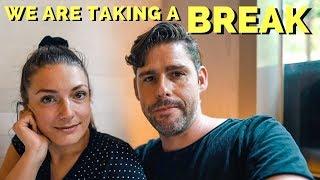 WE ARE TAKING A BREAK - Manila Vlog