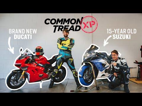 Half-Price Hack? 2020 Ducati Panigale V4 S Vs. 2005 Suzuki GSX-R 1000   CTXP