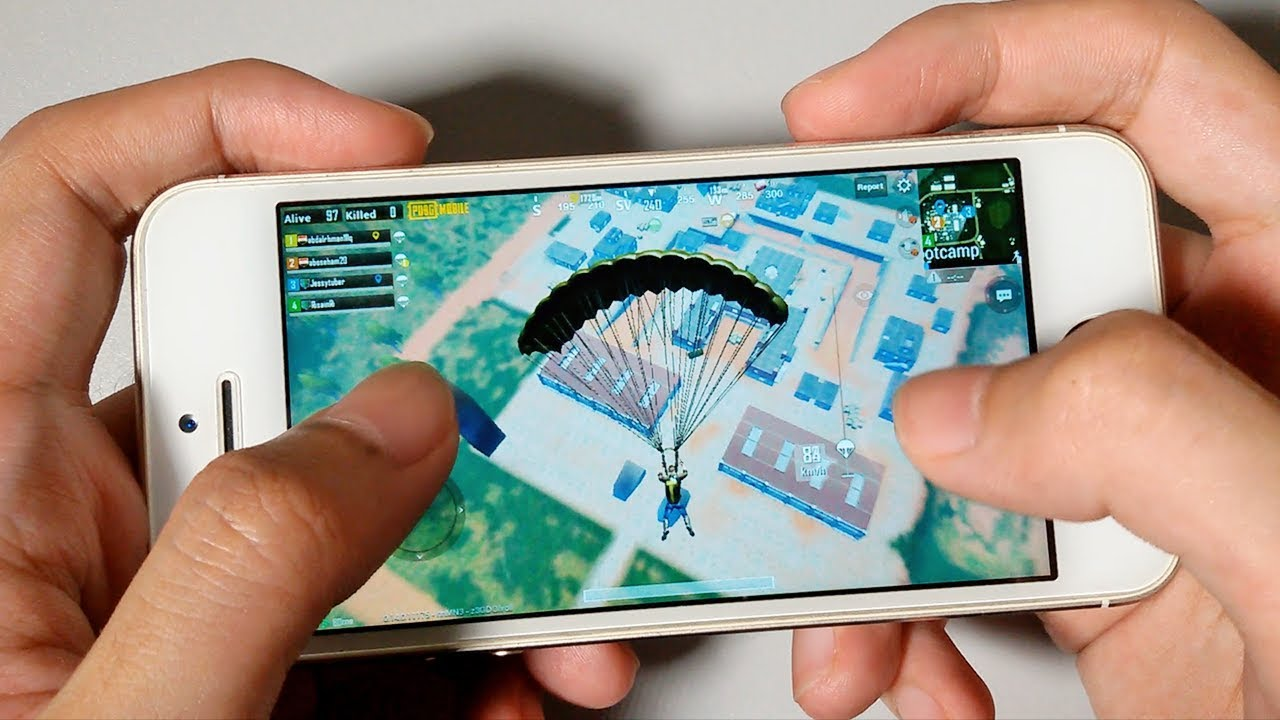 PUBG Mobile On iPhone 5s - Gaming Performance Test 2019