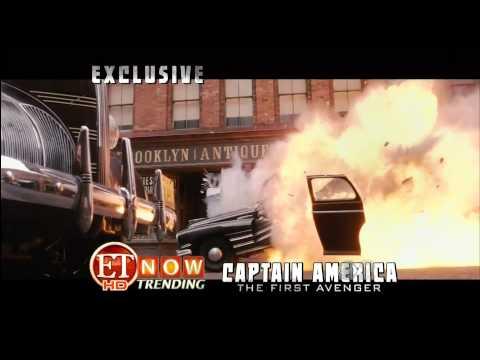 Captain America The First Avenger ET Trailer 2011 Footage   http::film book com1