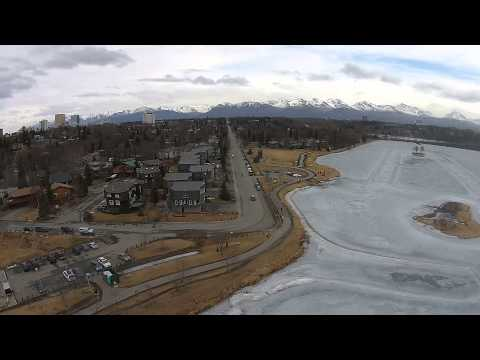Alaska Drones meet-up at Westchester Lagoon in Anchorage