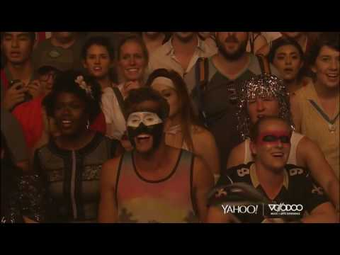 """Arcade Fire Records Crowd Singing for """"Everything Now"""" on Voodoo Music"""