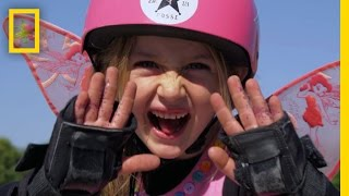 Gnarly in Pink  These Skateboarding Girls Shred With the Boys | National Geographic