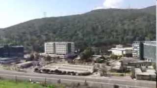 View of Carmel Montain from Tel Yokneam - Vista do Monte Carmelo desde Tel Yokneam