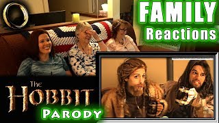 Video The Hobbit Parody | FAMILY Reactions download MP3, 3GP, MP4, WEBM, AVI, FLV Juli 2018