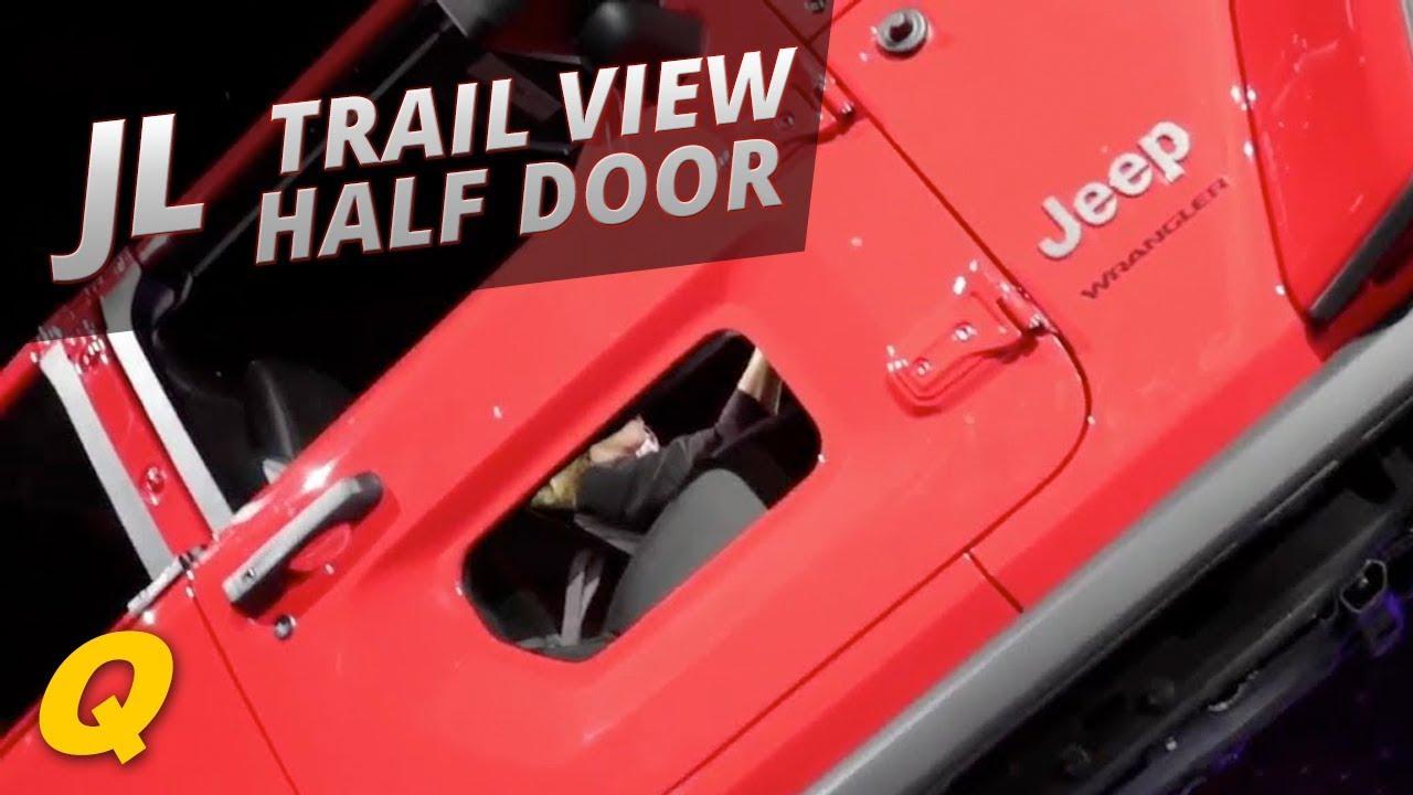 2018 Jeep Wrangler JL Rubicon Half Doors & 2018 Jeep Wrangler JL Rubicon Half Doors - YouTube