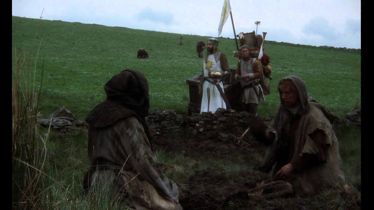 Arturo y los campesinos monty python los caballeros de for Caballeros de la mesa cuadrada