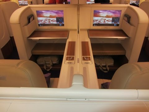 Thai Airways A380, Bangkok - Paris in Royal First Class