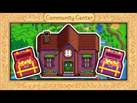 Selling The Community Center? What It's Worth! - Stardew Valley
