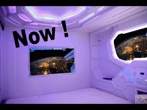 Russia Built a Luxury Hotel on Space Station for 450 Million Dollars