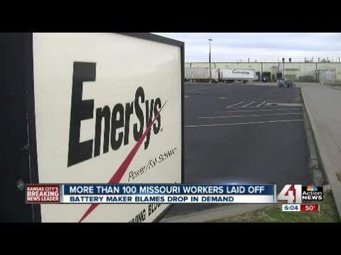 Battery maker lays off Warrensburg employees