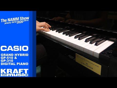 NAMM 2020 - Casio Grand Hybrid GP510 And GP310 Digital Pianos