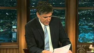 Late Late Show with Craig Ferguson 4/16/2009 Madeleine Albright, Amy Smart