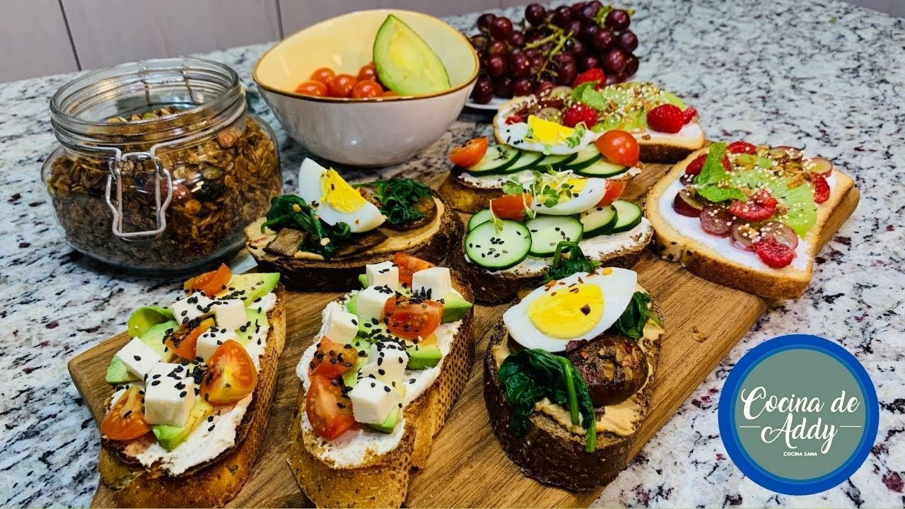 DESAYUNOS/CENAS Saludables. Comida Siempre lista MEAL PREP  Fácil, Rápido y P/Fotos   Cocina de Addy