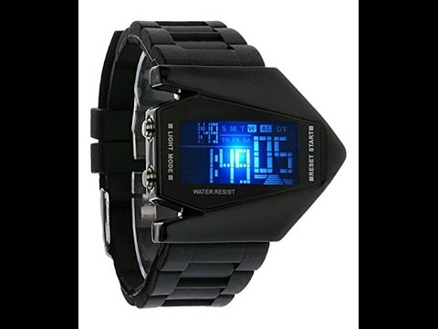 UnBoxing & Set Up Guide of  Popular Rocket Watch - Ranked 56 in Mens Watches on Amazon