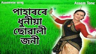 Paharore Dhuniya Suwali joni by SIMANTA SHEKHAR || assamese song||AssamTone 2018