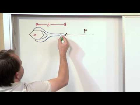 Lesson 2 - Moment Of A Force   Scalar Calculation, Part 2 (Engineering Mechanics)