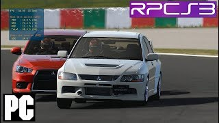 Gran Turismo 5 Pro. on PC HD RPCS3 emulator  i7 4790k TSX  GT5
