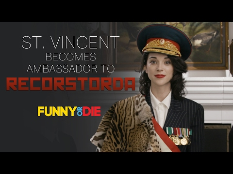 St. Vincent Becomes Ambassador To Recorstorda