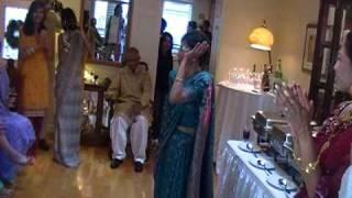 Nargis Tapal celebrates the wedding of Natasha and Chris