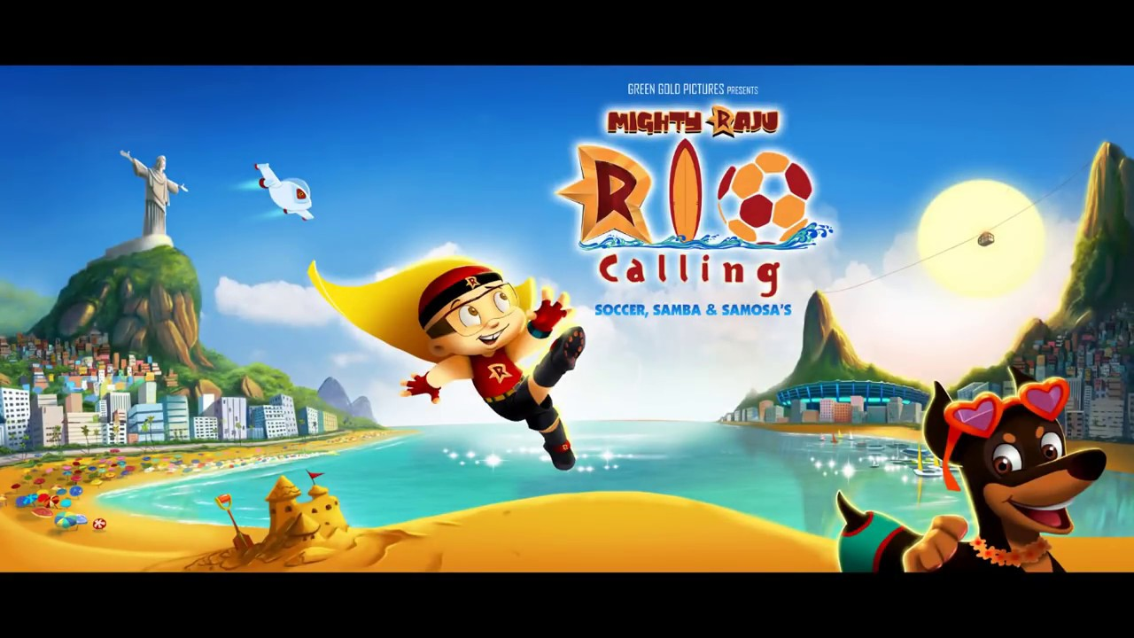 Download Mighty Raju Coming to Rio Song from Mighty Raju Rio Calling Movie