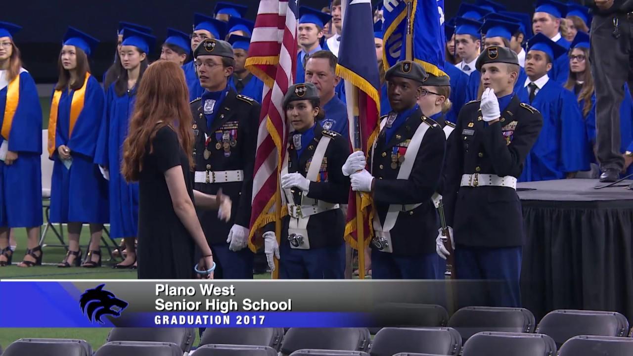 Plano West Graduation Ceremony 2017