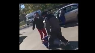 Black Men Brutally Attack Old White Guy For Voting Trump @Hodgetwins