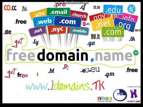 How to get a Free Top level Domain (LTD) like  .com/.in/.org/.io/.xyz/etc