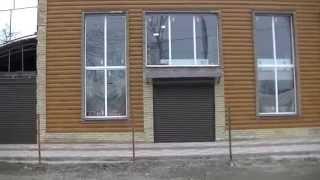 Вариант недорого фасада кирпич+ металлический сайдинг.(Относительно недорогой и симпатичный фасад . Обрамление из гиперпрессованного кирпича+ вставки из металли..., 2014-02-24T15:43:34.000Z)
